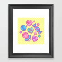 Candy Candy Framed Art Print