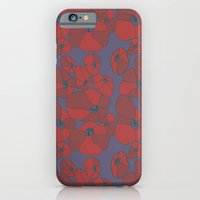 iPhone & iPod Case featuring Mauve Poppies by Astrid Fox