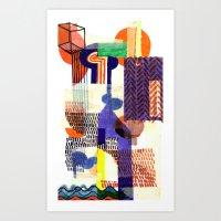 Collage II Art Print