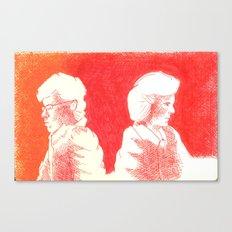 away women Canvas Print