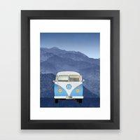 Volkswagen Bus Framed Art Print