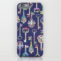 Rainbow Keys iPhone 6 Slim Case