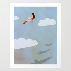 Wonder, Wonder Art Print