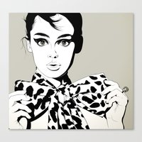 Uh! Canvas Print