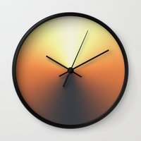 TIMECODE RISE Wall Clock