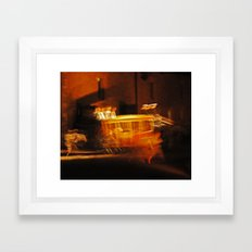 Heavy Ghosts Framed Art Print