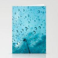 Raindrops Stationery Cards