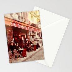 Coffehouse, Sidewalk Cafe Stationery Cards