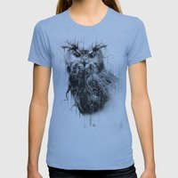 DARK OWL Womens Fitted Tee Athletic Blue SMALL