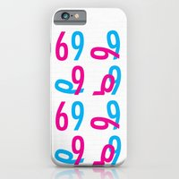 iPhone & iPod Case featuring 69 by RoarsAdams
