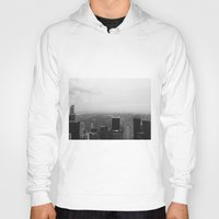 New York In Black And Wh… Hoody