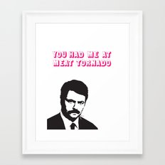 Be my valentine.  Framed Art Print