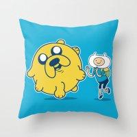 Katamari Time! Throw Pillow