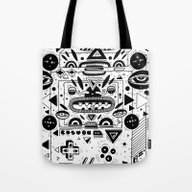 Tote Bag featuring Costok 1 by Cosmic Nuggets