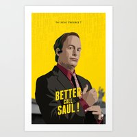 Better Call Saul ! Art Print