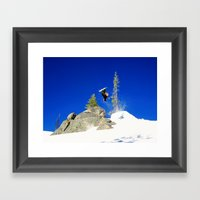 Going Loco At Lolo Framed Art Print