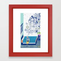 Time Is Never Enough Framed Art Print