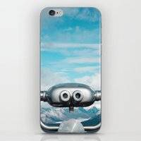 Mountaintop View iPhone & iPod Skin