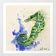 SeaStallion Art Print