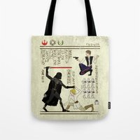 Hero-glyphics: The Force Tote Bag