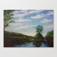 Ware River Canvas Print