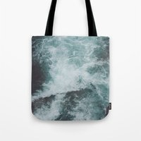 Stormy Waters Tote Bag