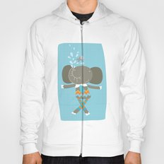 happy elephant Hoody