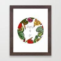 Peru 4 U Merch - Produce… Framed Art Print