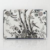 Peacock Tree Natural iPad Case