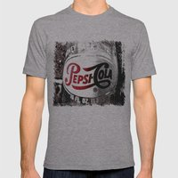 Pepsi-Cola Americana Mens Fitted Tee Athletic Grey SMALL