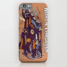 NORTH CAROLINA iPhone 6s Slim Case