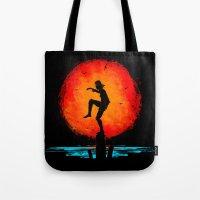 Minimalist Karate Kid Tr… Tote Bag