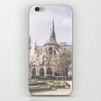Notre Dame de Paris iPhone & iPod Skin