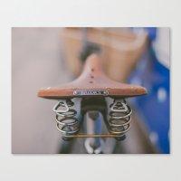 Brooks Bike Canvas Print