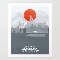 Avatar The Legend Of Kor… Art Print