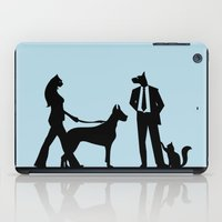 cats and dogs iPad Case