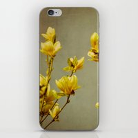 magnolias yellow iPhone & iPod Skin