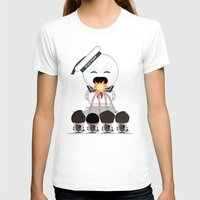 How to Roast Stay Puff Marshmallows! Womens Fitted Tee White SMALL