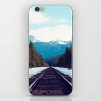 Train To Mountains iPhone & iPod Skin
