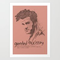 Grandad Moz Art Print