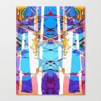 Colored Window Canvas Print