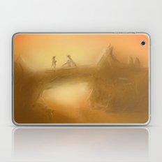 duel at dusk Laptop & iPad Skin