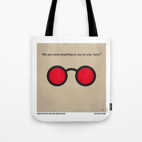 No139 My Natural Born Killers minimal movie poster Tote Bag