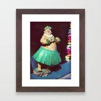 Hawaii, Baby! Framed Art Print