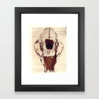 X Ray Terrestrial No. 3 Framed Art Print