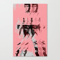 FPJ pastel peach Canvas Print