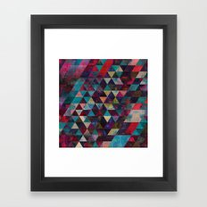 Life Colors Framed Art Print