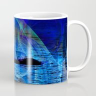 Dolphin Crossing Mug