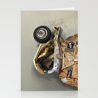 Motor head Stationery Cards