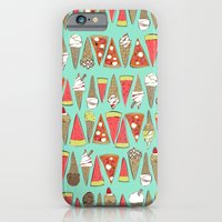 iPhone Cases featuring treats mint by Sharon Turner